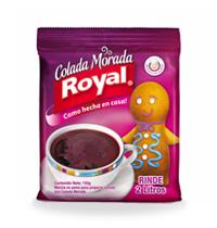 Postres > Colada morada Royal