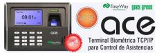 EasyWay ACE Terminal Biométrica TCP/IP