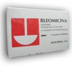 Bleomicina®(Bleomicina frasco – ampolla 15 mg)