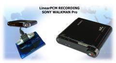 Linear PCM Recording Sony Walkman Pro