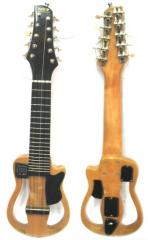Charango Acústico en madera Naranjillo. Sistema