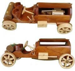 Auto Deportivo de madera
