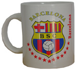 Taza Decorativa 1 - Barcelona Sporting Club
