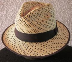 Stripe Fedora -Handmade in Ecuador