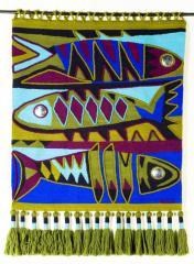 """Tapestry """"3 Pescados Paula"""""""