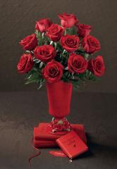 """Ramo de Rosas Rojas """"Passion"""""""