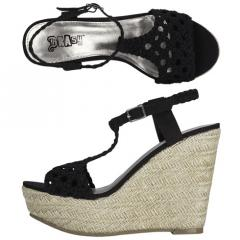 Women's Melon Espadrille Wedge