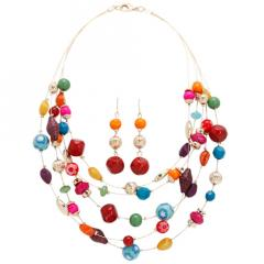 Women's Spice Necklace and Earring Set