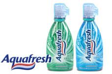 Products for oral healthcare Aquafresh