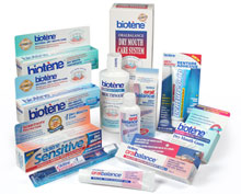 Products for Oral healthcare Biotène