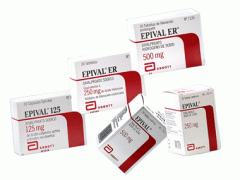 Epival (divalproex sodium)