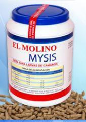 Dieta para Mysis  Molinoi Mysis