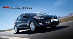 Automóvil Hyundai New Elantra