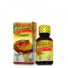 Jarabe para la tos con miel y eucalipto Eucamiel