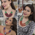 SET NECKLACE & EARRINGS (ASSORTED) WHOLESALE TAGUA JEWELRY HANDMADE ECOIVORY - JC003