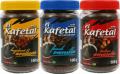 Café el Kafetal instantáneo/soluble, spray dried Sabores a: Italian Amaretto, French Vanilla y Hazelnut-Avellana