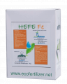 Hefe  Edta-Fe corrector de hierro (Fe) quelatado con EDTA de aplicación al suelo para hortícolas, frutales y ornamentales.
