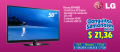 Televisor Plasma LG 50PA4500