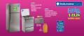 """Refrigeradora 13 pies y Cocina 24"""" Indurama (RI-425 Quarzo CR y Spazio 3)"""