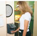 Reloj registrador biométrico HandPunch 1000