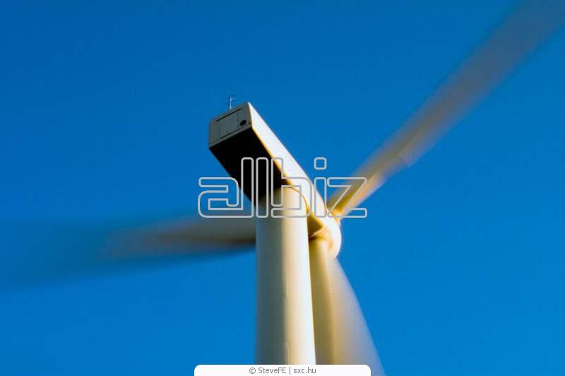Pedido Montaje mecanico y electrico de aerogeneradores