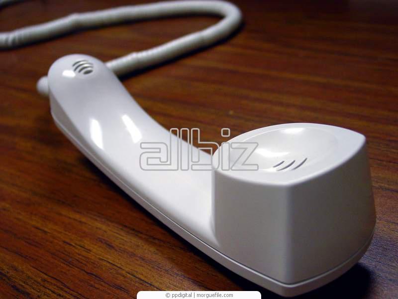 Pedido Mantenimiento de redes telefonicas