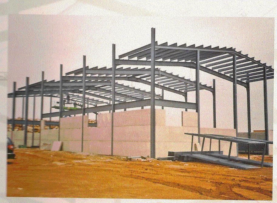 Pedido Montaje de estructuras metalicas