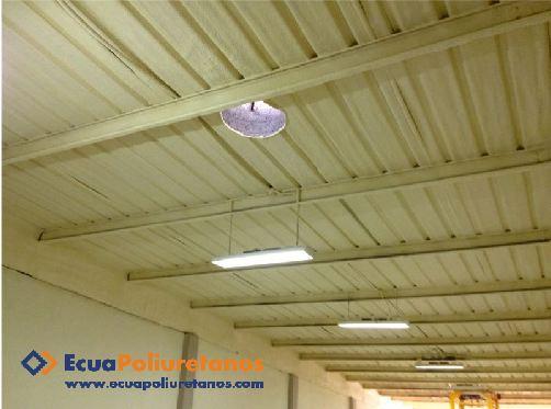 Pedido Espuma de poliuretano proyectada - Aislamiento Térmico para Techos y Muros – Manta