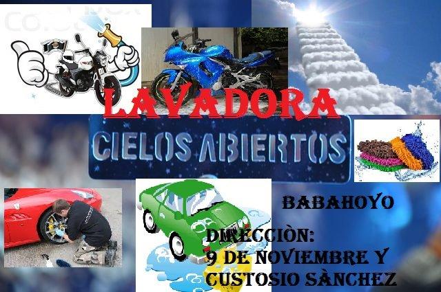 Pedido LAVADO DE CARROS Y MOTOS