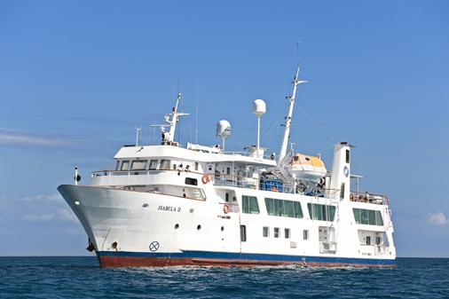 Pedido Crucero a Galápagos Yate Isabela II