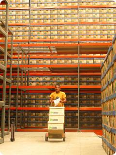 Pedido Administración del archivo físico