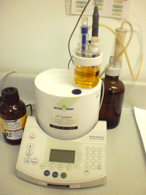 Pedido Analisis Físico Químico de Aceites Hidráulicos