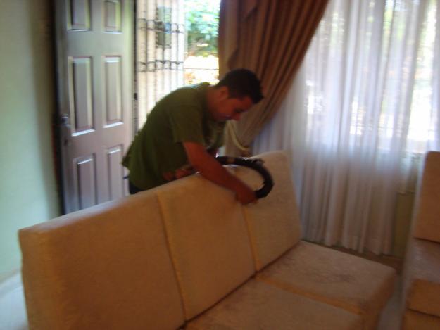 Pedido Lavado de muebles