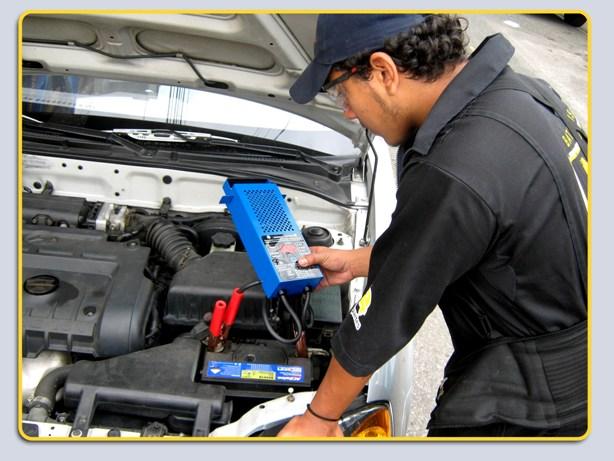 Pedido Servicios de mantenimiento de baterias
