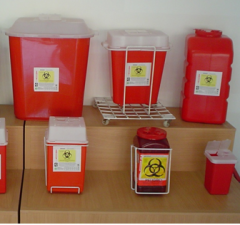 Transporte, tratamiento de los residuos biopeligrosos