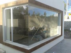Estructuras en aluminio vidrio y acero inoxidable