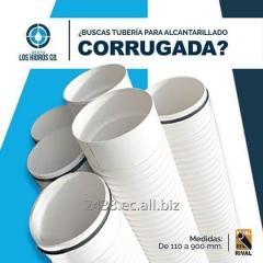 TUBERIA CORRUGADA  DESDE 110 MM HASTA 975 MM