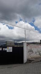 Instalación de pararrayos tipo Franklin de 5 puntas 20m de altura